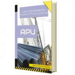 Libro Universal para Análisis de Precios Unitarios APU